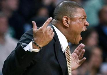 Doc Rivers was loud — but apparently not clear — as his Celtics were clobbered by the Knicks.